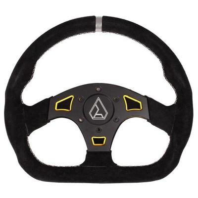 Assault Industries Ballistic D Suede UTV Steering Wheel Yellow 100005SW1205