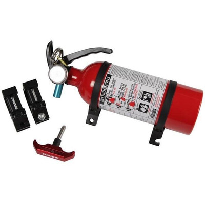 Assault Industries Quick Release UTV Fire Extinguisher Kit 2 Clamp 101005FE01213