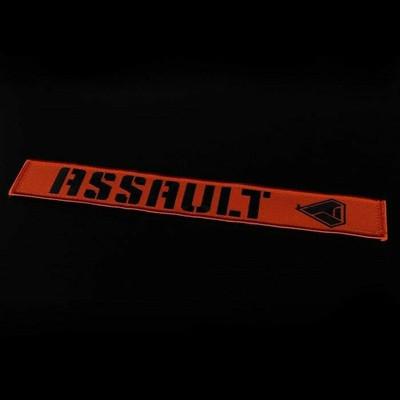 Assault Industries 2 Race Harness Velcro Strap Guards Orange 100005SE1307