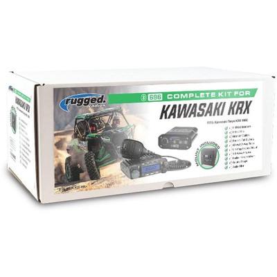 Rugged Radios Kawasaki KRX1000 Complete UTV Kit KRX-KIT-HK