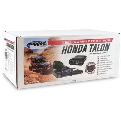 Rugged Radios Honda Talon Complete UTV Kit TALON-KIT-HK