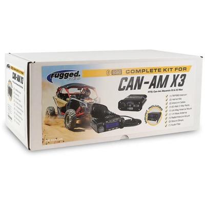Rugged Radios Can-Am Maverick X3 Complete UTV Kit X3-KIT-HK