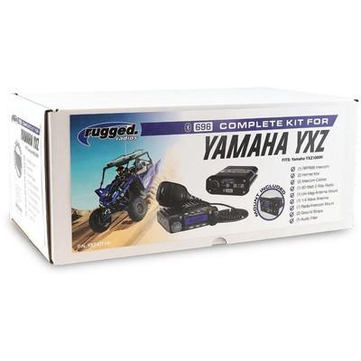 Rugged Radios Yamaha YXZ1000R Complete UTV Kit YXZ-KIT-HK