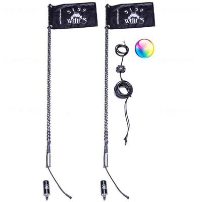 5150 Whips 187 4 ft Bluetooth LED Whip Pair 187-4FTPR
