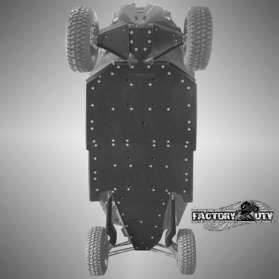 Factory UTV Can-Am Maverick X3 Max Ultimate Three Eights UHMW Skid Plate Kit MX3XDSMax38