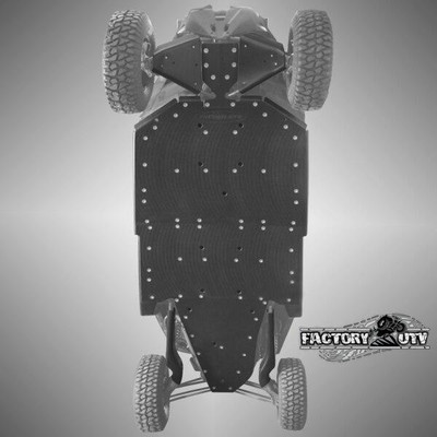 Factory UTV Can-Am Maverick X3 Max Ultimate Half Inch UHMW Skid Plate Kit MX3XDSMax12