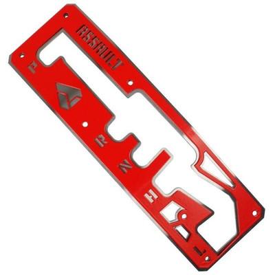 Assault Industries 17-19 Can-Am X3 Shifter Gate Panel Kit Red 401005SH1611