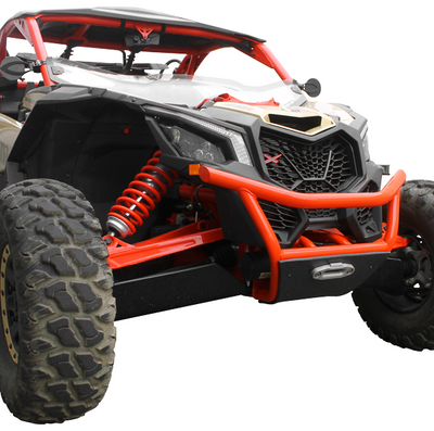 Factory UTV Can-Am Maverick X3 Series Steel Winch Bumper MX3XRSBmpr