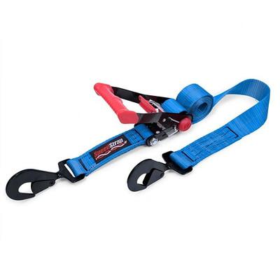 SpeedStrap 2″ x 8′ Rachet Tie Down w/ Twisted Snap Hooks Blue 26002