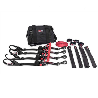 SpeedStrap Ultimate UTV Kit 1.5″ Tie-Down Kit Black 71600