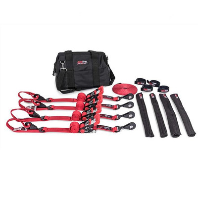 SpeedStrap Ultimate UTV Kit 1.5″ Tie-Down Kit Red 71603