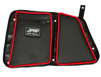 PRP Seats Polaris RZR Stock Rear Door Bag with Knee Pad PRP Seats 527