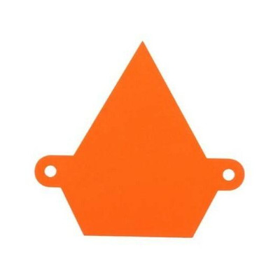 Assault Industries Colored Logo Backplate Orange 101005LG0007