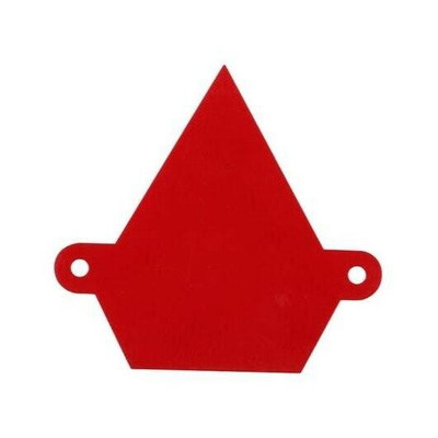 Assault Industries Colored Logo Backplate Can-Am Red 101005LG0011