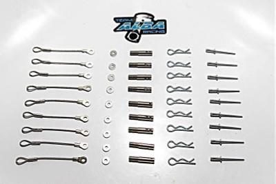 Alba Racing RZR XP Turbo Clutch Cover Pin Kit 23900798