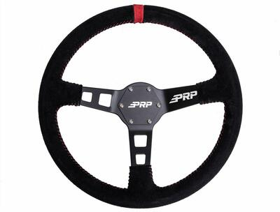 PRP Seats Suede Deep Dish UTV Steering Wheel PRP Seats 757