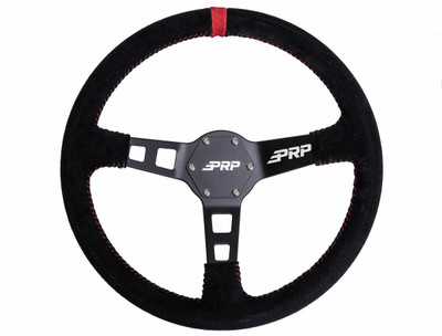 PRP Seats Suede Deep Dish UTV Steering Wheel PRP Seats 757