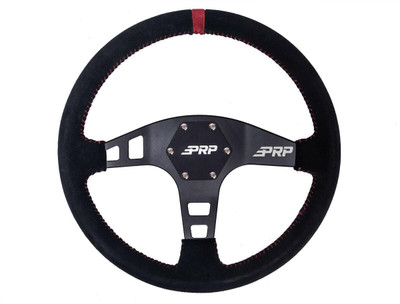 PRP Seats Suede Flat UTV Steering Wheel PRP Seats 759