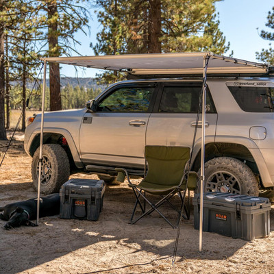 ROAM Adventure Co ROAM 4 Slate Grey Rooftop Awning ROAM-AWN-4-SN