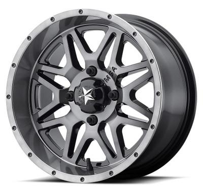 MSA M26 Vibe UTV Wheel 14X7 4X137 Dark Tint M26-04737