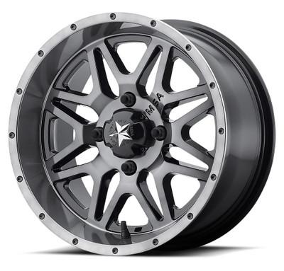 MSA M26 Vibe UTV Wheel 14X7 4X156 Dark Tint M26-04756