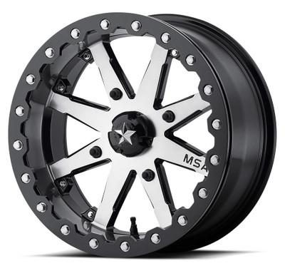 MSA M21 Lok UTV Wheel 14X7 4X137 Charcoal Tint M21-04737