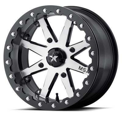 MSA M21 Lok UTV Wheel 15X7 4X156 Charcoal Tint M21-05756