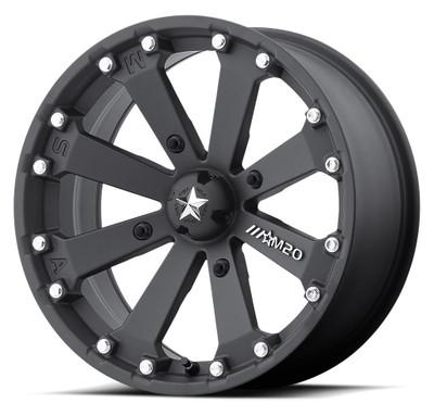 MSA M20 Kore UTV Wheel 14X7 4X156 Satin Black M20-04756
