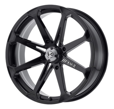 MSA M12 Diesel UTV Wheel 14X7 4X110 Gloss Black M12-04710
