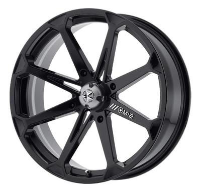 MSA M12 Diesel UTV Wheel 14X7 4X137 Gloss Black M12-04737