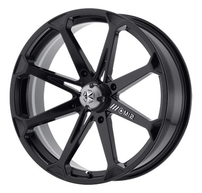 MSA M12 Diesel UTV Wheel 14X7 4X156 Gloss Black M12-04756