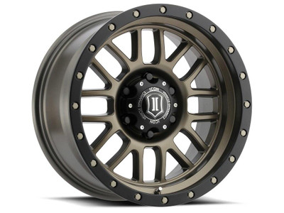 Icon Alloys Alpha 17 Inch Wheel 6x135 5 / 6 Bronze 1217856350BR