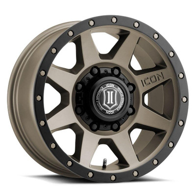 Icon Alloys Rebound 17 Inch Wheel 8x6.5 5.25 / 13 Bronze 1817858052BR