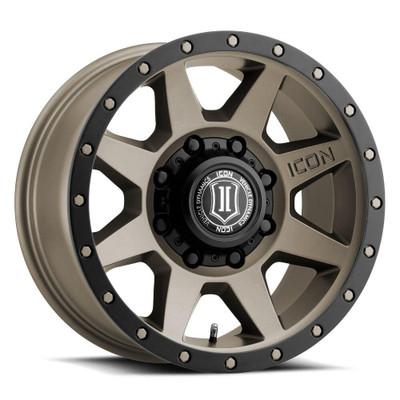 Icon Alloys Rebound 17 Inch Wheel 8x170 5 / 6 Titanium 1817858150TT