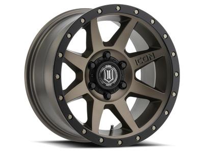 Icon Alloys Rebound 17 Inch Wheel 6x5.5 5.75 / 25 Bronze 1817858357BR