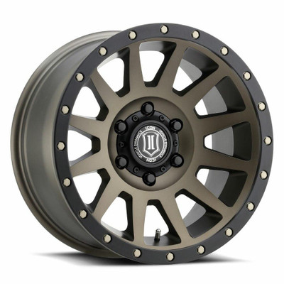 Icon Alloys Compression 17 Inch Wheel 6x5.5 4.75 / 0 Bronze 2017858347BR