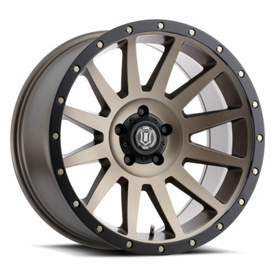 Icon Alloys Compression 20 Inch Wheel 5x5 5 / 12 Bronze 2020107350BR