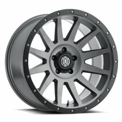 Icon Alloys Compression 20 Inch Wheel 5x5 5 / 12 Titanium 2020107350TT