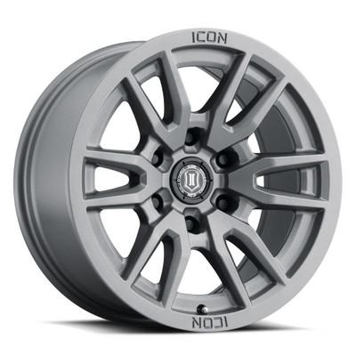 Icon Alloys Vector 6 17 Inch Wheel 6x135 5 / 6 Titanium 2417856350TT