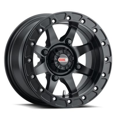 GMZ Podium Beadlock UTV Wheels 14X10 55 4X156 Matte Black GZ80741046555B
