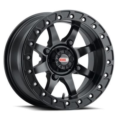 GMZ Podium Beadlock UTV Wheels 15X7 43 4X136 Matte Black GZ80757047543B