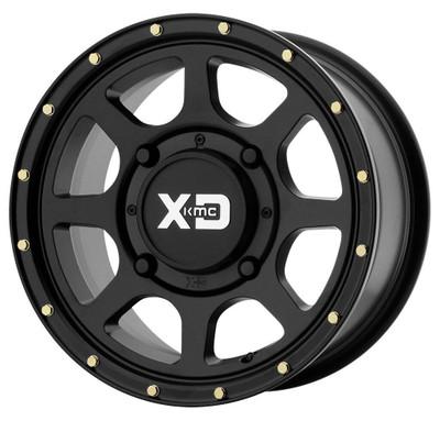 KMC XS134 Addict 2 UTV Wheel 15X6 4X137 Satin Black XS13456048738