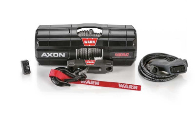 WARN Industries AXON Synthetic UTV Winch 45-RC 208218
