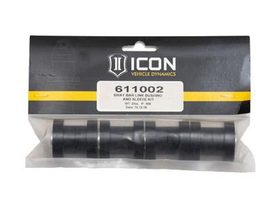 ICON 1999-04 Ford Super Duty Sway Bar Link Bushing And Sleeve Kit 611002