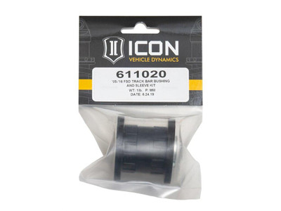 ICON 2005-16 Ford Super Duty Track Bar Bushing And Sleeve Kit 611020