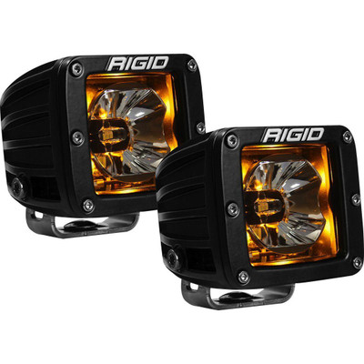 Rigid Industries Radiance Backlit LED Pods Pair Amber Rigid Industries 878