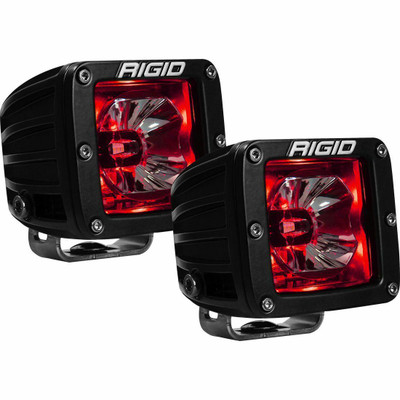 Rigid Industries Radiance Backlit LED Pods Pair Red 20202