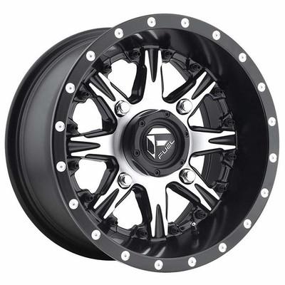 Fuel Offroad D541 Nutz UTV Wheel 14X7 4X156 Matte Black Machined D5411470A544