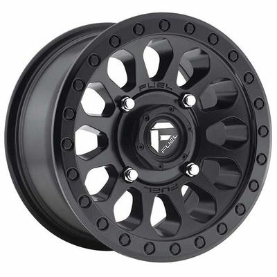 Fuel Offroad D579 Vector UTV Wheel 15X7 4X137 Matte Black D5791570A654