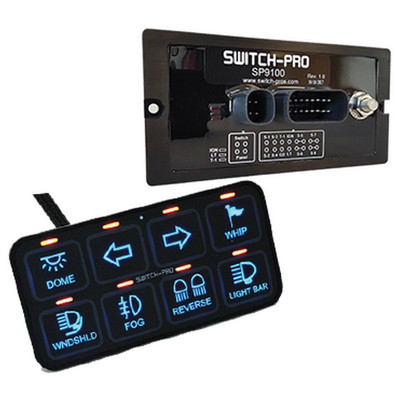 Switch Pros SP-9100 8 Switch Panel Power System SP-9100